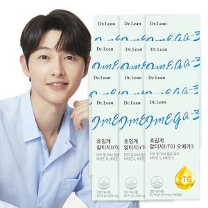닥터린 초임계 알티지(rTG) 오메가3 12박스 (12개월분)