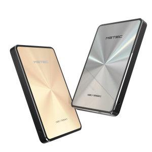 테란5 Gen5 USB 3.1 C-Type 외장하드 5TB 파우치/골드