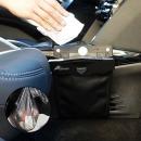 차량용 휴지통 자동차 쓰레기통 포켓 용품 앞좌석형