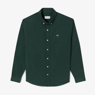 [라코스테] 남성 옥스퍼드 솔리드 셔츠 CH531E-51N 3M2