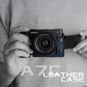 소니 A7C 가죽 카메라 케이스 전용 카메라 케이스