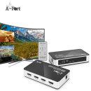 PIP301 모니터4K선택기 HDMI 셀렉터 온라인 학습 방송