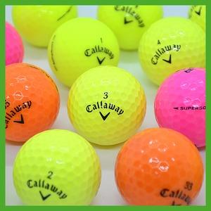 캘러웨이 컬러 A급 로스트볼 골프티증정