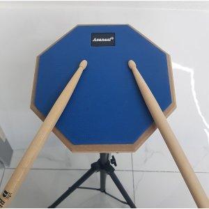 연습용 드럼패드 세트 + 드럼스틱 + 드럼가방