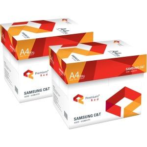 삼성 레드 A4용지 복사용지 80g 2500매 2박스(5000매)