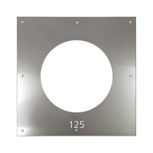 평판가림막 사각 125mm / 스텐연통 화목난로 연도