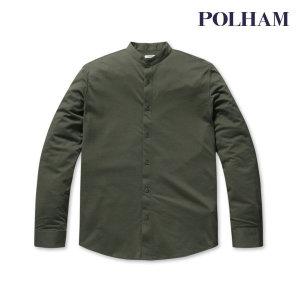 폴햄  폴햄  남성 코튼 폴리 저지 헨리넥 셔츠_PHA3WC1522