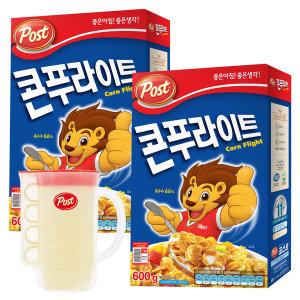 동서 포스트 콘푸라이트 600g 2개+피크닉컵 세트