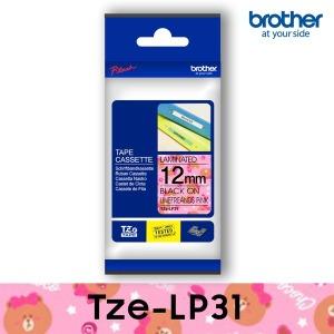 브라더정품라벨테이프 Tze-LP31_라인프렌즈핑크_팬시