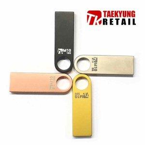 정품 TKR M10-8GB USB메모리 메탈블랙 8기가