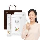 홍삼청스틱 30포 2박스+쇼핑백 추석선물