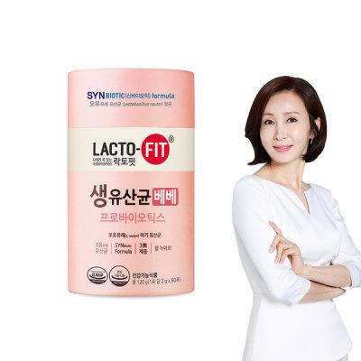 [종근당건강] 15% 락토핏 생유산균 베베 60포 1통