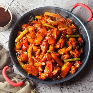 춘천 식 숯불 닭갈비 750gX4봉