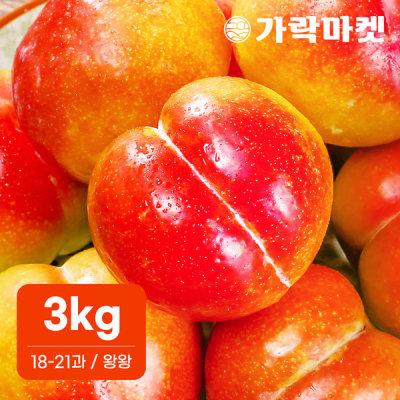 가락마켓  추희 자두 3kg (18-21과) (왕왕)