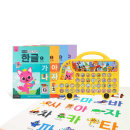 핑크퐁 사운드북 한글버스와 사운드 워크북 한글 세트