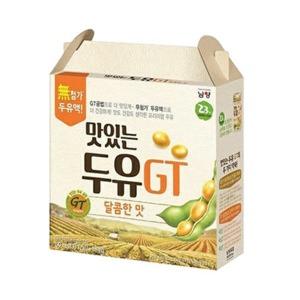 맛있는두유GT 달콤 190ml 64팩 - 상품 이미지