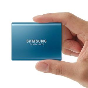 삼성 USB 미니 외장 하드 500G /포터블 SSD T5 500GB