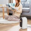 온풍기 히터 + 초음파 가습기 일체형 DV-P01 블랙