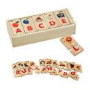 알파벳 퍼즐 대문자 영어학습 원목 장난감 /브알라