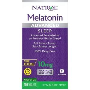 나트롤 멜라토닌 비타민 B6가 함유된 Natrol 멜라토닌