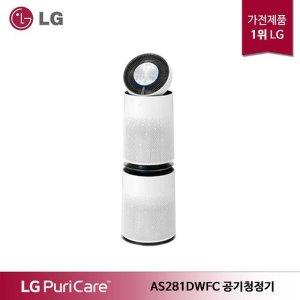 LG 퓨리케어 360 공기청정기 플러스 AS281DWFC 92.4㎡