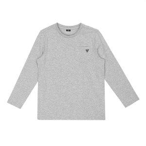 게스키즈 포켓 컬러 티셔츠 G16KDT931