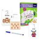 숫자 쓰고지우는 활동카드 학습놀이 장난감 /MIDEER