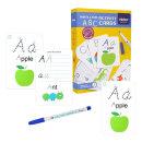 알파벳 쓰고지우는 활동카드 학습놀이 장난감 /MIDEER