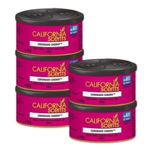 캘리포니아센트 차량용 방향제 코로 나도 체리(캔) 5개 - 상품 이미지