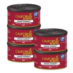 캘리포니아센트 차량용방향제 콩코드 크랜베리(캔) 5개 - 상품 이미지