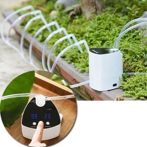 화분자동급수기 정원 잔디 물주기타이머기능 홈가드닝