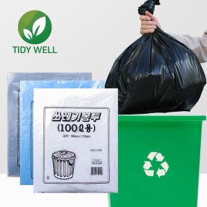티디웰 국내생산 분리수거 100L 쓰레기봉투