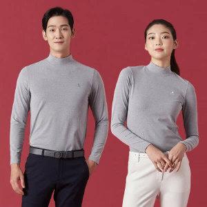 (현대Hmall) 빈폴골프  남녀 솔리드 터틀넥 티셔츠 2종 택1