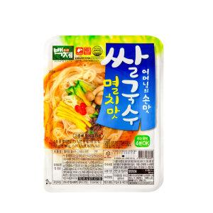 백제쌀국수 멸치맛 92g x 30개