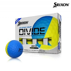 (현대Hmall)2021 스릭슨 큐스타 투어3 디바이드 3pcs 골프공 블루