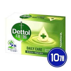 [데톨] 데톨 항균비누 데일리케어 100g x10개 /세안비누