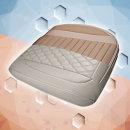 차량용방석 시트커버 퀄팅 타공방석 최고급 PU가죽사용