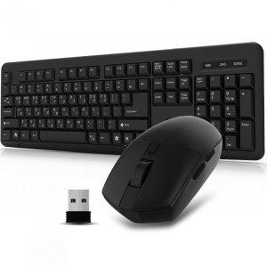 QSENN MK110 무선키보드 마우스 세트 (키스킨포함)