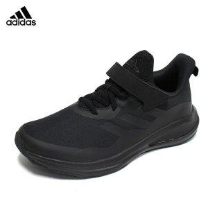 (현대Hmall)아디다스 키즈 포타런 EL K 운동화 트리플블랙 아동 주니어 올검 벨크로 찍찍이 아동화 신발 GY