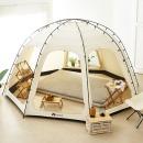특대형) 한일 캠핑용 탄소매트 전기장판 260X200