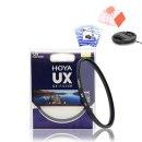 호야UX UV 72mm MCUV필터 발수코팅+렌즈캡+크리닝티슈