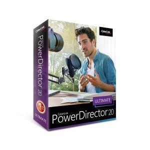 PowerDirector 20 Ultimate 패키지 한글 / 파워디렉터
