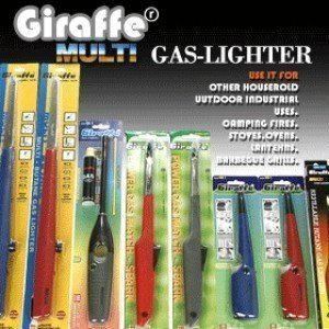 지라프 라이터 점화기 총라이타 가스점화기 스파크