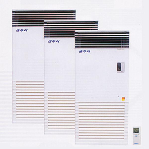 가스온풍기 CH-715G2/LNG전용/자기진단/마이콤/좌우에어스윙/리모콘