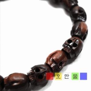 벽조목해탈합장주(짙은색) 불교용품 염주 단주 호신불 무속용폼 패션 팔찌