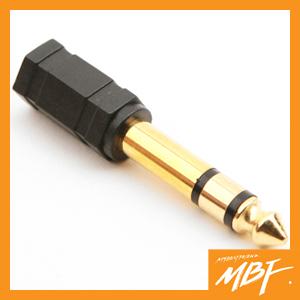 [MBF]BG311/스테레오 젠더(6.5 M/3.5 F)