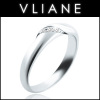 VLIANE 브리앙 14K 세그웨이 다이아몬드 반지