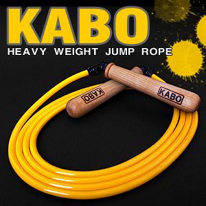 KABO 줄넘기 86% 두껍고 55% 무거운 타이어트 줄넘기