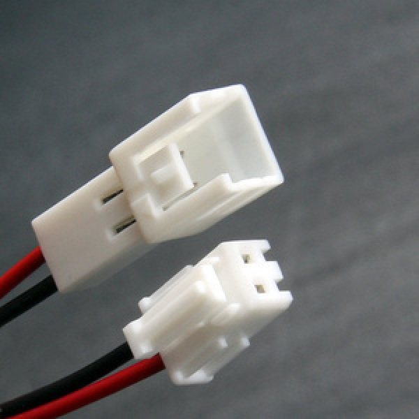 소형 2p 배선 LED 하네스 커넥터 하네스커넥터 2핀