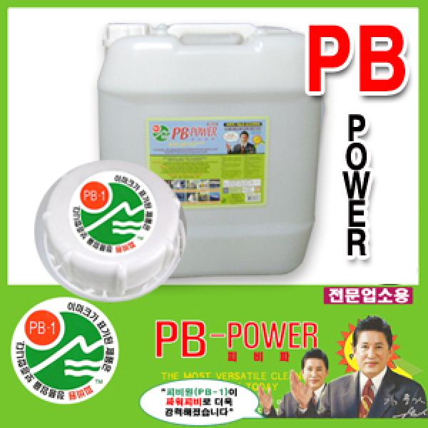 파워PB1(20KG)/파워피앤비/피비원 기름때 찌든때 세차
